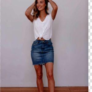Hudson • NWT denim skirt